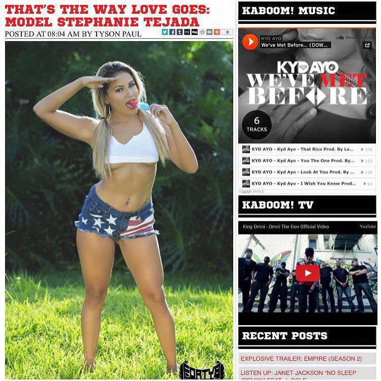 Stephanie Tejada comedian Female comedian The New Queen Of comedy Stephanie Tejada